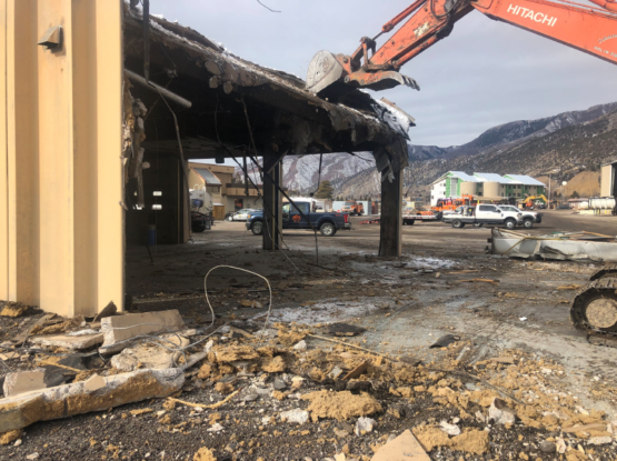 CDOT Glenwood Springs Building Demolition